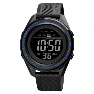 digital watch for sport black watch