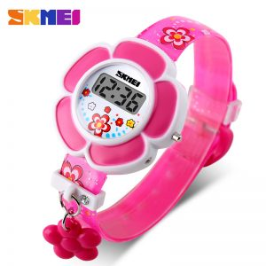 flowers digital watches