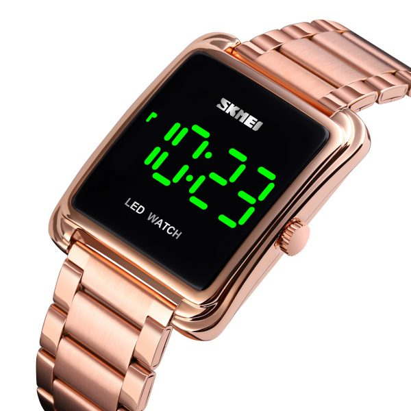 LED digital watch men