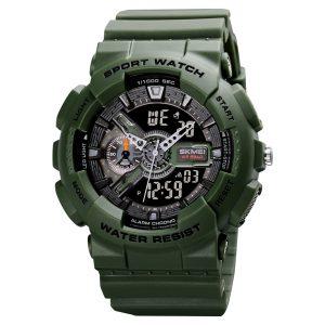 camouflage digital sports watch