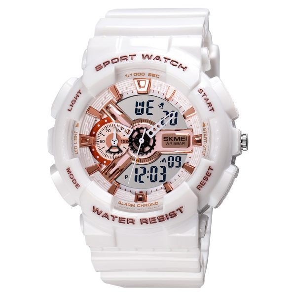 quartz analog digital sports watch