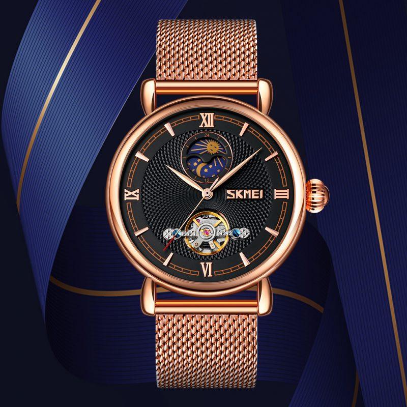 mechanical automatic movement watch
