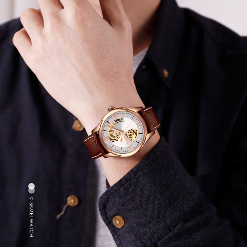 Mens automatic watch custom Mechanical Watch