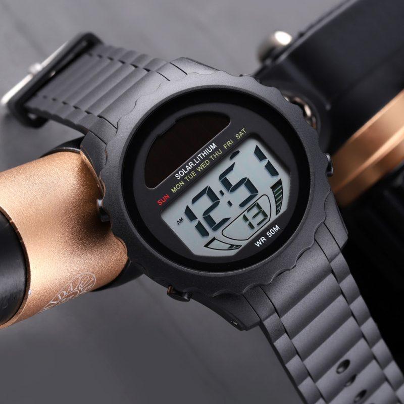 solar digital watch