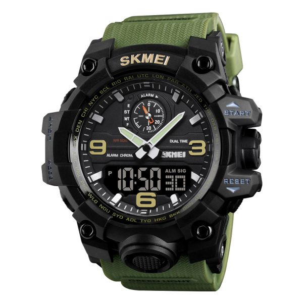 water resistant sports watch