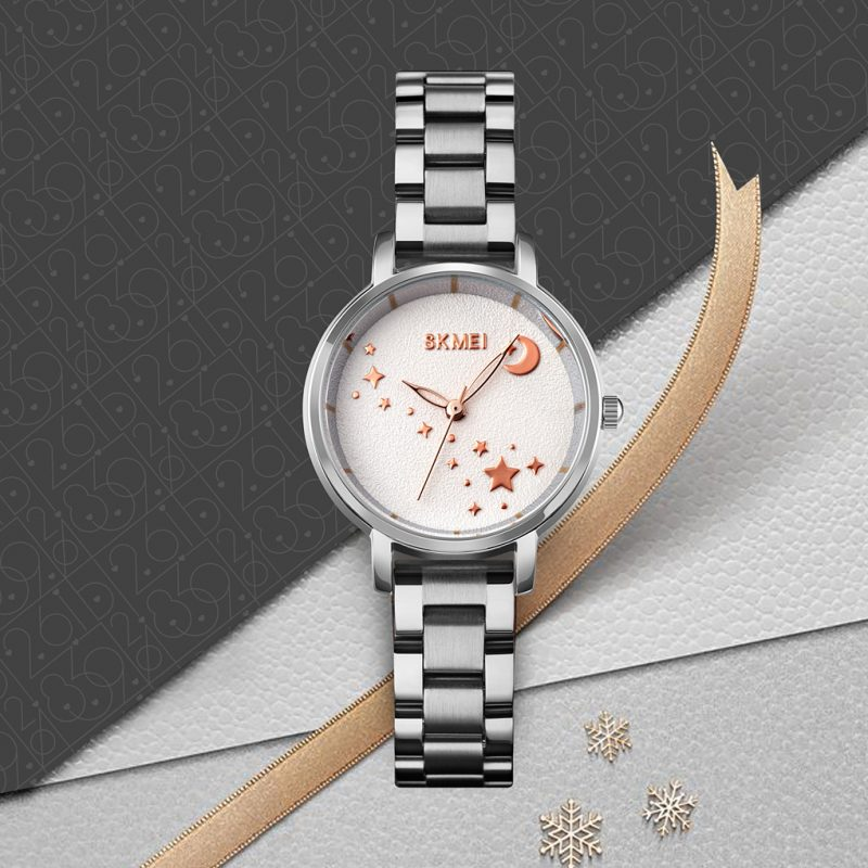 Stars and moon wrist watch women