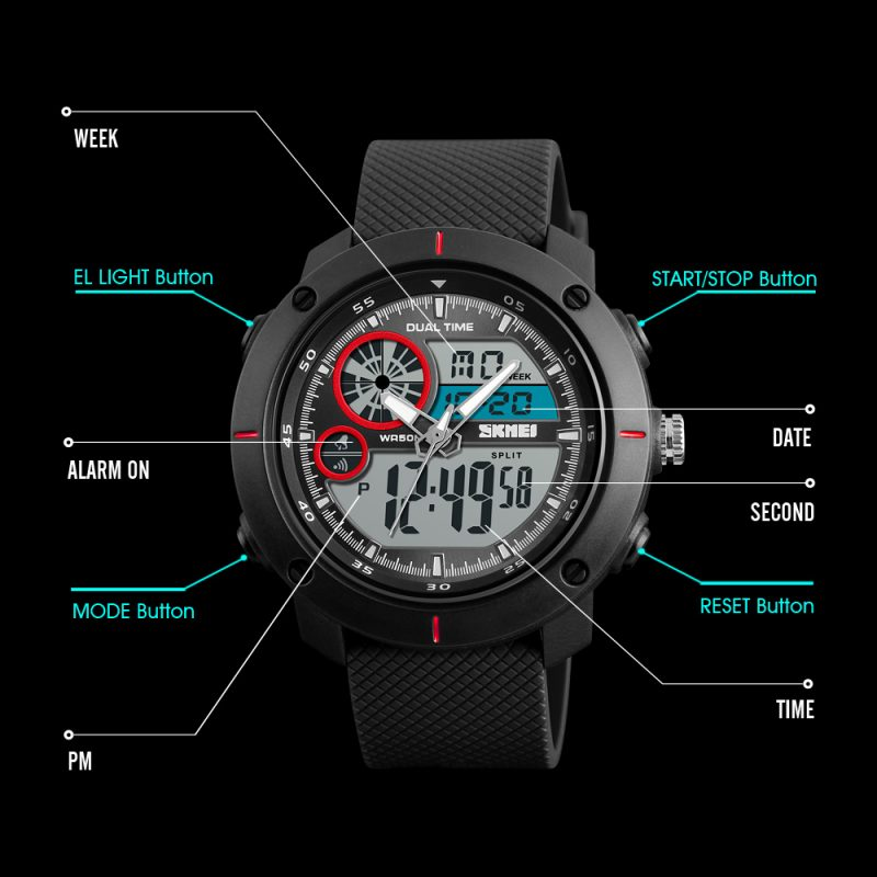 DUAL TIME WATCH