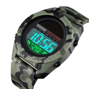 Solar LCD Digital Watch