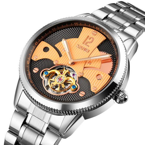 mechanical watch custom logo