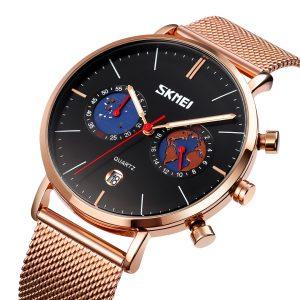 quartz luxury watch
