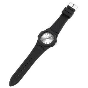 silicone strap man watch