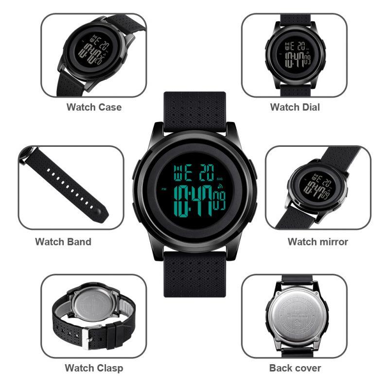 thin digital watch
