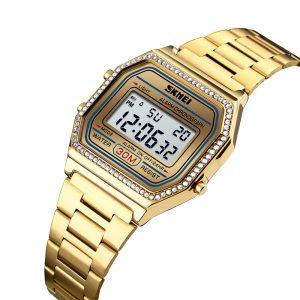 slim digital watch