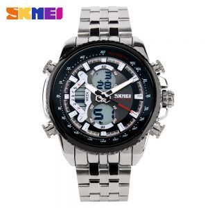 analog digital watch men
