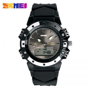 dual time analog watches