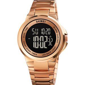 Digital Metal Watch