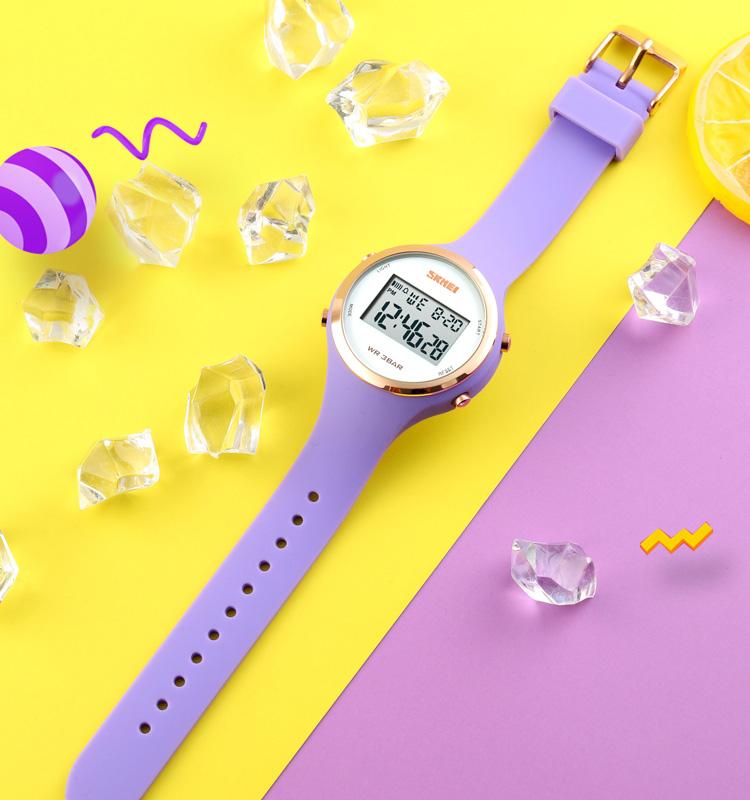silicone digital watch