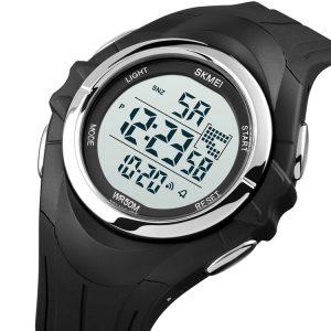 Black Plastic Watch